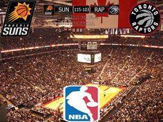 NBA 2016/17: Phoenix Suns 115-103 Toronto Raptors
