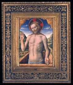 Antonio Vivarini - Gesù Cristo che sporge dal sepolcro - Pinacoteca Nazionale di Bologna