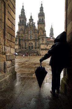 Catedral de Santiago de Compostela, España.