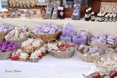 lavander colours, soaps, shop