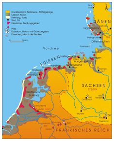 Eiderstedt: Elisenhof - Küstenarchäologie in Schleswig Holstein | Dr. Dirk Meier Holland Map, Ottonian, Know Your Place, European People, Germanic Tribes, Political Beliefs, Early Middle Ages, Old Maps, All Family