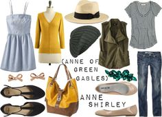 Inspired By: Anne of Green Gables {Anne Shirley}