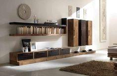 Pareti attrezzate etniche e moderne, pareti attrezzate su misura in bambu, design moderno pareti per soggiorno, sconto outlet parete etnico