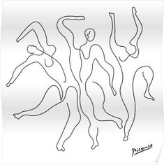 Trendy Line Art Tattoo Sketches Pablo Picasso Ideas Design, Sketches, Art Sketchbook, Art Tattoo, Line Art, Picasso Drawing, Single Line Drawing, Art, Line Art Tattoos