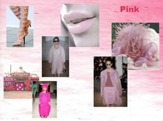 """Spring Summer 2013 Fashion Color Trends from Pantone-""""Pink""""."""
