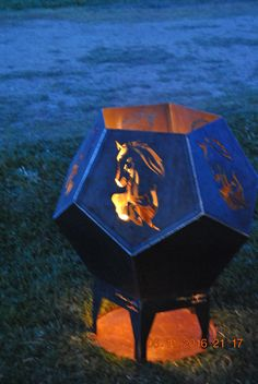 Pentagonal fire pit - Metal as Anything Creations