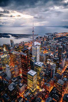 Toronto - Canada, America do Norte Toronto Photography, City Photography, Landscape Photography, Canada Vancouver, Toronto Ontario Canada, Wallpaper Toronto, Monte Fuji, Toronto Skyline, City Aesthetic