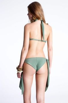 Be #classy but a bit #sassy with #Rien's #bikini #bottom. The oversized ties at the sides will bring out your playful side while the #Brazilian cut will bring your #feminine side.