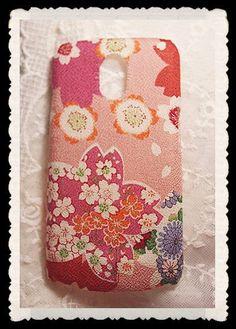 Diy Handmade Cloth Art Phone Case no.68 Japanese by HeartmadeMacau, $18.99