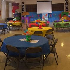 Great looking area. Tables look so fun and inviting. Thanks to Kelly Windham Knight, Coleen Ward and a team of wonderful leaders who guided Surfers through a weekend VBS! Zion UMC had an awesome time at the Surf Shack over the weekend!!!! cokesburyvbs.com