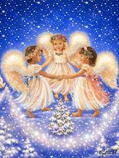 The perfect Anjos Angels Snow Animated GIF for your conversation. Discover and Share the best GIFs on Tenor. Christmas Scenes, Christmas Pictures, Christmas Angels, Christmas Art, Vintage Christmas, Angel Images, Angel Pictures, I Believe In Angels, Beautiful Gif