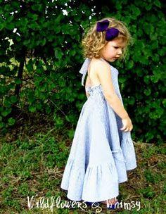 Little Nora Jane Twirl Dress Tutorial