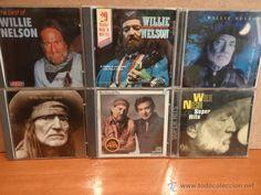 WILLIE NELSON. INTERESANTE CONJUNTO DE 6 CDS. BUENA CALIDAD. LEER.