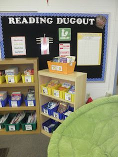 """Reading Dugout: """"(The glove says """"Catch a good book"""")"""""""
