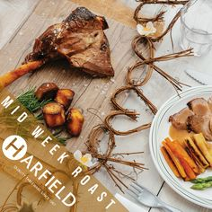 Mid Week Roast  Who wants to wait until Sunday? Get the #family together this Wednesday with Harfield tableware and enjoy a mid-week treat. We have everything you need with our 100% recyclable plates and cutlery to take this British tradition outdoors.  #midweektreat #roastdinner #summerfun #recyclable #bestofbritish   Visit www.harfieldtableware.co.uk