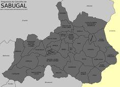 Freguesias do concelho do Sabugal
