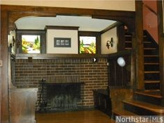 "4147 Pillsbury Avenue S, Minneapolis, MN 55409 — **WOW** SUPERB Arts & Crafts MASTERPIECE! See-To-Believe Interior: INGLENOOK Fireplace & Stained Glass, Nat WW, Hdwd Flrs; BIG Sun RM & Bright LR; Dreamy DR Buffet; Beautifully Updated ""Now"" Kitchen; Fin Bsmt; BIG MBR/2 Clos; Dbl Gar in PRIVATE BACK YARD"