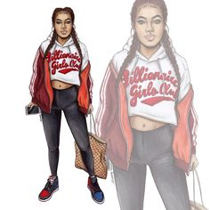 "5,344 Likes, 46 Comments - Natalia Madej (@nataliamadej) on Instagram: ""@kekepalmer #sketch #fashionsketch #fashiondrawing #fashionillustration #drawing #illustration…"""