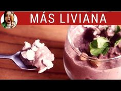 POSTRE DE CHOCOLATE LIGHT sin azúcar / Postres light - YouTube