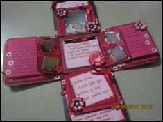 Lina's Handmade Cards: I have made First Exploding Box Card