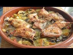 Pollo a la Cerveza con Guarnición al Horno - YouTube