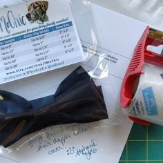 Got this #classic #blackbowtie #collarcover order to #minnesota packed just in time for last mail pick-up! #whew