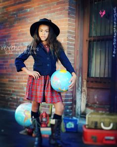 good suggestions for inexpensive props for back-to-school themed shoots
