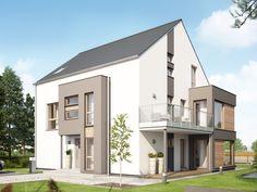 Unser CELBRATION 275 V2.   #Haus #Fertighaus #Hausbau #Design #Architektur #Zweifamilienhaus #House #BienZenker
