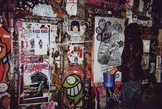 Poster in the Neurotitan tunnel in Berlin