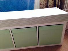 Ikea Hack Kallax Shelf Turned Bay Window Bench Clever Furniture