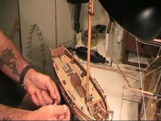 ▶ How to Build a Model Ship (HM Cutter Mermaid) - YouTube
