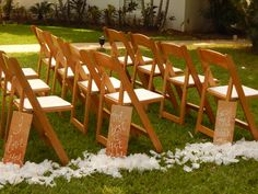 Signs of affection along the wedding aisle. #Jamaica #DestinationWedding #CouplesResorts