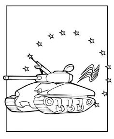 Panzer Panther Tank Coloring Page | Color Tanks | Army Birthday ...