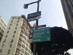 Los Angeles Fashion District in Los Angeles, CA