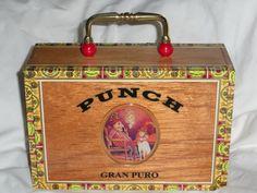 Punch Cigar Box Purse by madebymandy35 on Etsy, #pcfteam