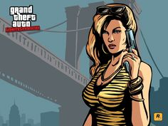 grand theft auto liberty city stories free hd widescreen 1600x1200