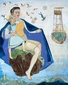 Rosa Loy (German: 1958) - Himmels Mantel, 2014