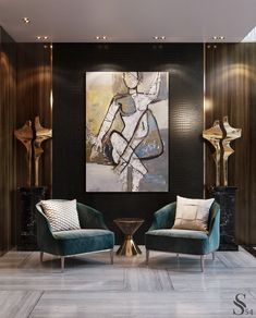 Absolutely exclusive interior by inspired by the history of the place, will give you an unrivalled level of c Luxury Homes Interior, Luxury Home Decor, Office Interior Design, Interior Decorating, Interior Shop, Interior Stairs, Interior Styling, Living Room Designs, Living Room Decor