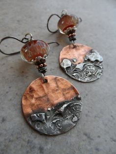 RESERVED Copper Canyon ... Copper With Silver by juliethelen