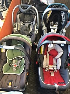 Infant Car Seats - We have a great selection of infant car seats.  All of them have at least 3 years of life to them before they expire.  Click on the link below to browse more great items at LilyPads!