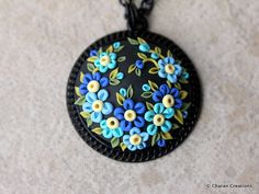 Check out this item in my Etsy shop https://www.etsy.com/listing/469999082/polymer-clay-applique-statement-pendant