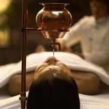 Shirodhara is a form of Ayurveda therapy that involves gently pouring liquids over the forehead (the 'third eye').   Ayurveda is part of our India Yoga tour in March 2014: http://www.waitepoweryoga.com/retreats-india/  #Shirodhara, #Ayurveda, #therapy