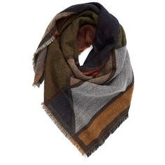 Women's Bp. Geo Pattern Woven Square Scarf (215 GTQ) ❤ liked on Polyvore featuring accessories, scarves, navy multi, woven scarves, navy blue shawl, navy blue scarves, navy shawl and braided scarves