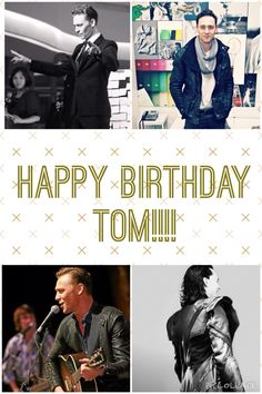 HAPPY BIRTHDAY!!! WE LOVE YOU SO MUCH TOM!!!!!