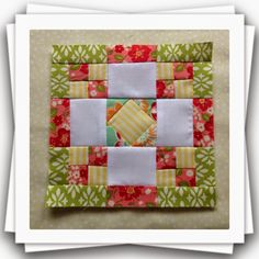 This weeks gorgeous block is Fair And Square . There are a few variations of this particular block and you will find many of them in Amish...