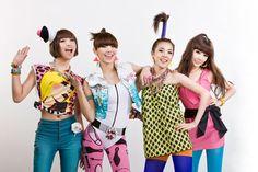 Oh! K-Pop stars 2ne1! So, unique!