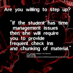 https://flic.kr/p/xuJUvv   Educational Postcard:  Are you willing to help a student with time management?   The image for this postcard comes from a modified photo of my own.