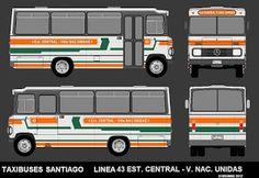 Bus Coach, Busse, Car Wrap, Trucks, How To Plan, Chile, Mercedes Benz, Nostalgia, Wraps