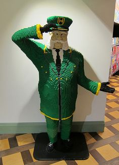 Amazing LEGO Train Conductor