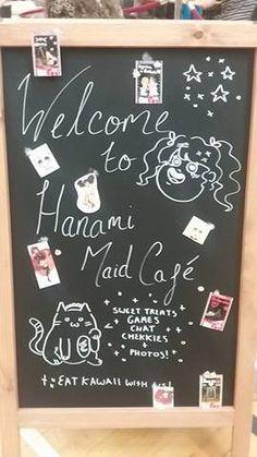 Our cute maid board. :3
